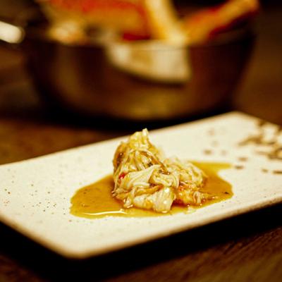 Matpodden - Glassert kongekrabbe