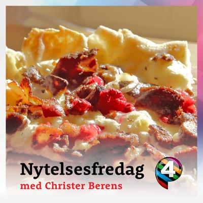 Pizza fra nord m/ rein & tyttebær
