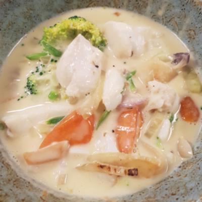 Matpodden - Barnevennlig fiskegryte med torsk