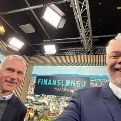 Finanslunsj oppsummerer #finansuke21 med Per Valebrokk og leder i Unge Venstre, Sondre Hansmark.